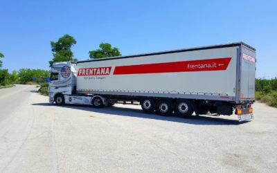 Frentana Tir la soluzione ideale per aziende che trasportano merci dall'Abruzzo verso il nord Italia